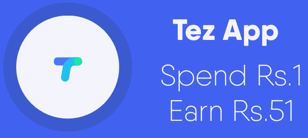 Tez by Google UPI refer and earn ₹51