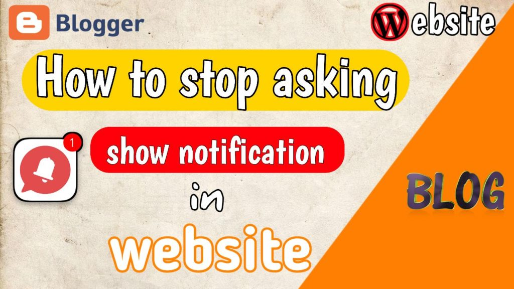 How to Make Sites Stop Asking to Show Notifications