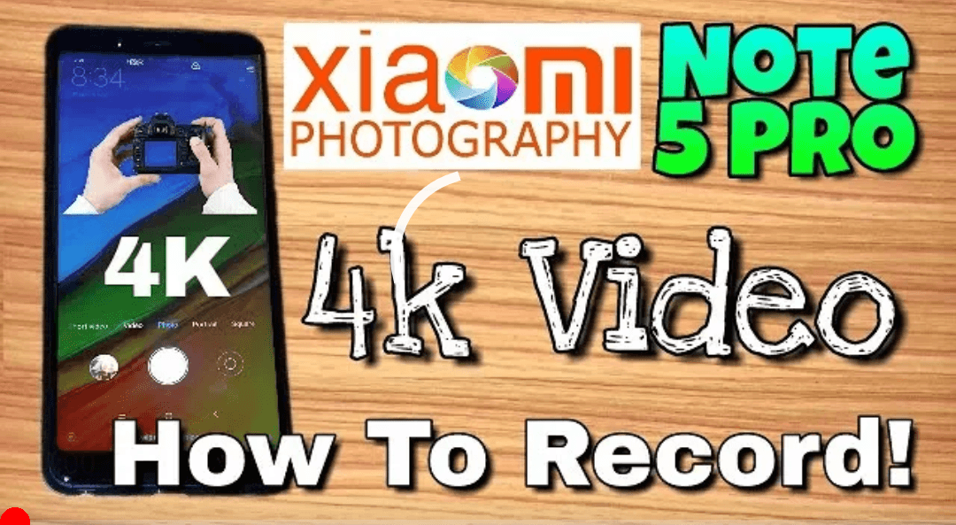 How to enable 4K UHD video recording on the Xiaomi Redmi Note 5 Pro