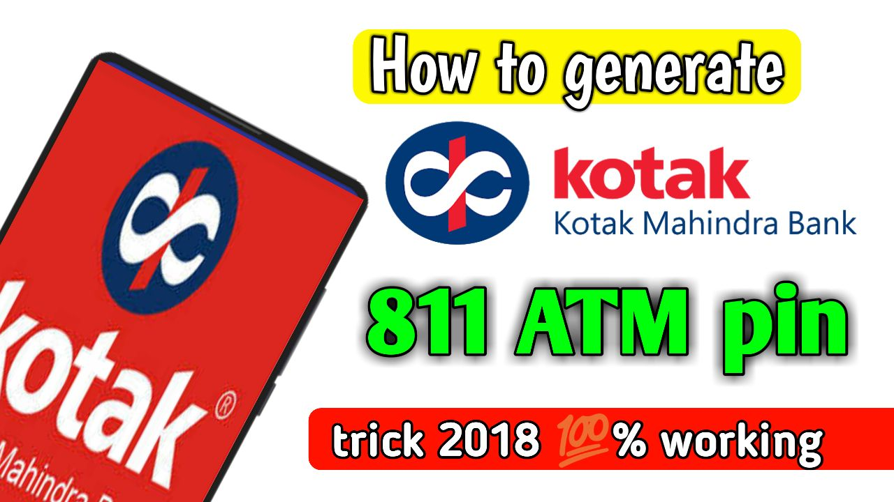 How to activate Kotak mahindra 811 ATM card