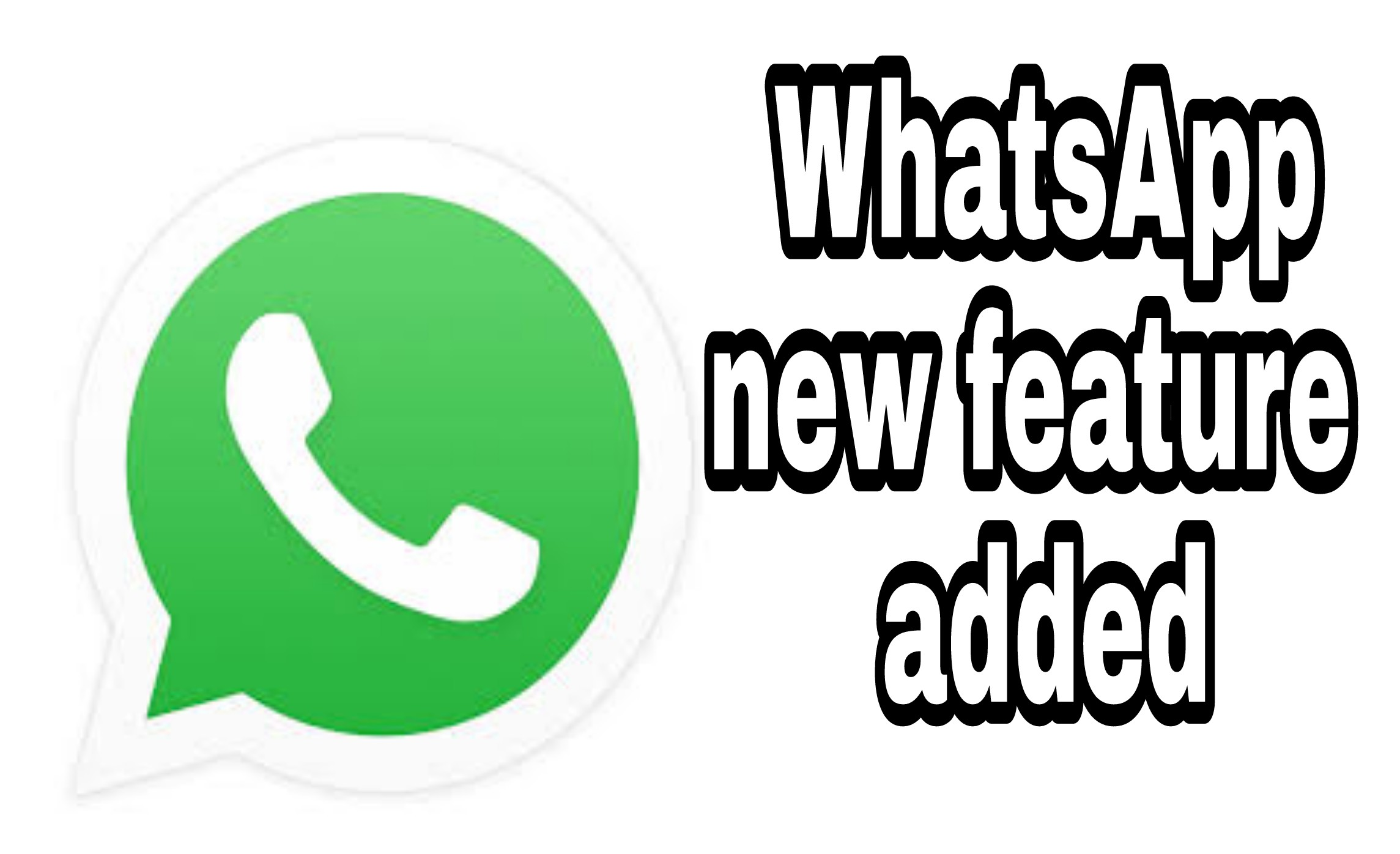 Whatsapp has removed one feature  and add a new feature
