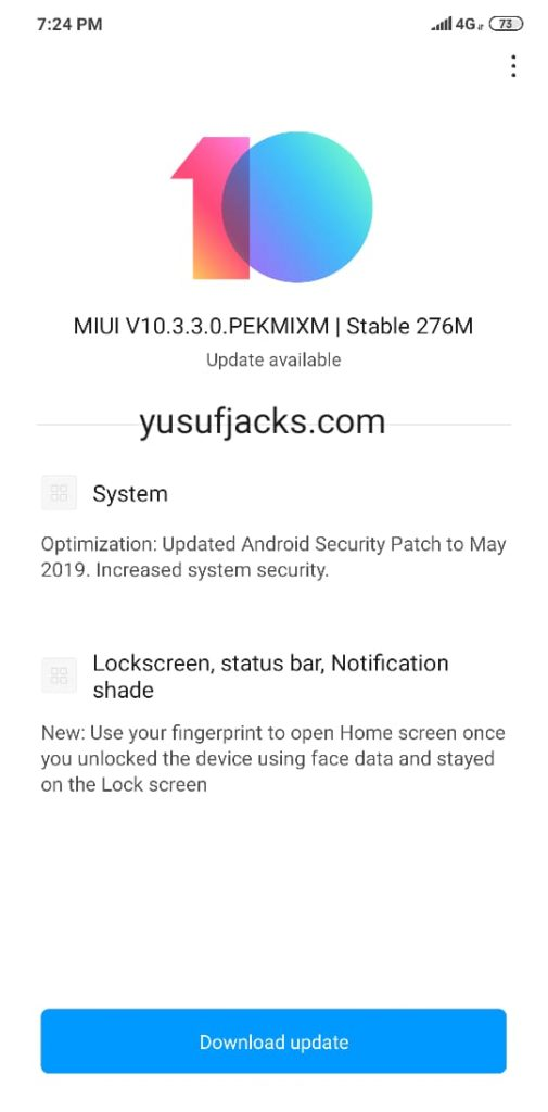 MIUI 10.3.3.0 Redmi Note 6 Pro OTA & Full ROM Download Link
