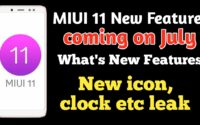 MIUI 11 New Look And Release Date