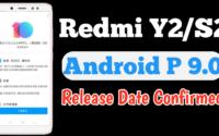 Redmi Y2 Android P