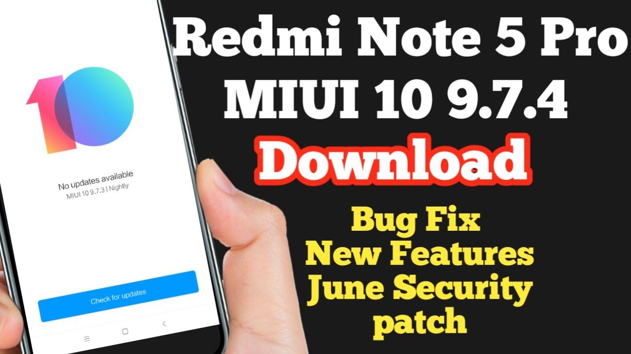 redmi note 5 pro update miui 10 download