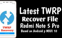 official twrp redmi note 5 pro
