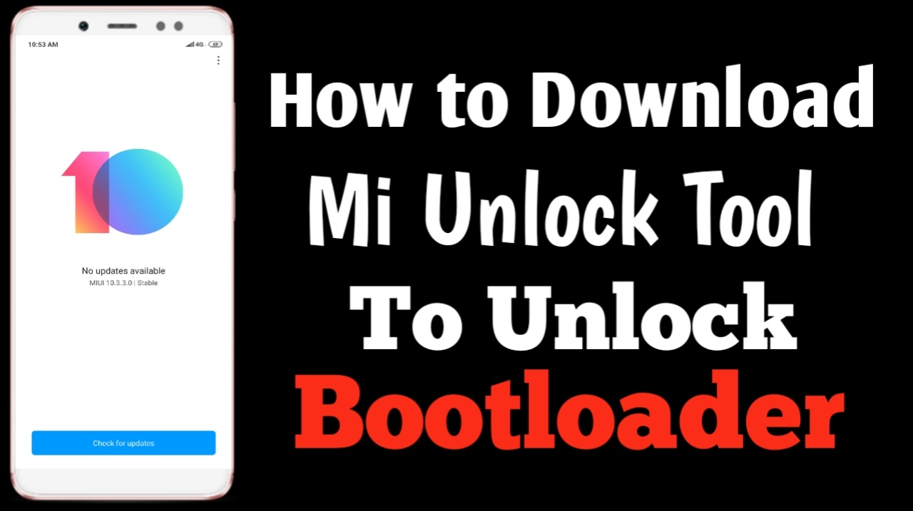How to Download MI Unlock Tool To unlock Bootloader