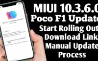 MIUI 10.3.6.0 Poco Phone F1  Download, Poco Phone F1 Latest Update MIUI 10.3.12.0 Download MIUI 10.3.6.0 PEIMIXM