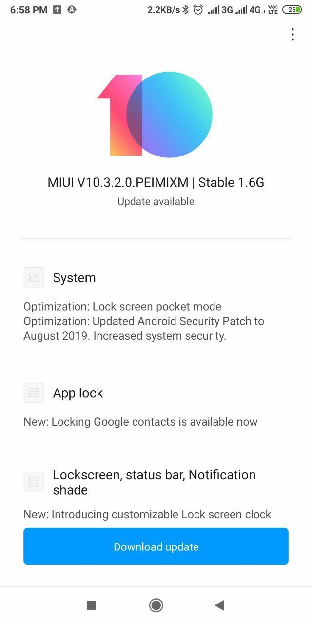 MIUI 10.3.2.0 Stable Update For Redmi Note 5 Pro Download, Redmi Note 5 Pro Latest Stable Update MIUI 10.3.2.0