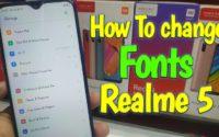How to change Realme 3i Fonts, Realme font download font Apk