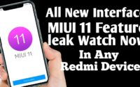 First official looks of MIUI 11 Interface Leak, Watch Full New Features of MIUI 11, MIUI 11 Launch Date is....