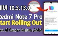 MIUI 10.3.13.0 Redmi Note 7 Pro Download, Redmi Note 7 Pro Latest Update MIUI 10.3.13.0 Download MIUI 10.3.13.0 PEIMIXM