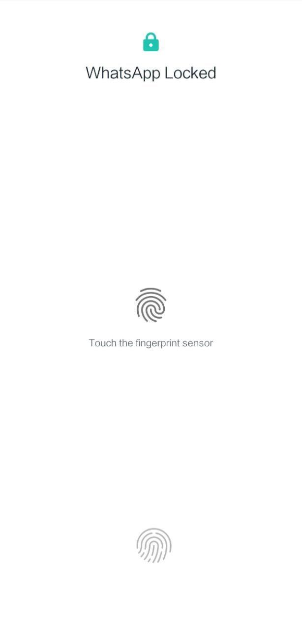 Download Whatsapp Finger print App, Whatsapp Finger Print Lock Release