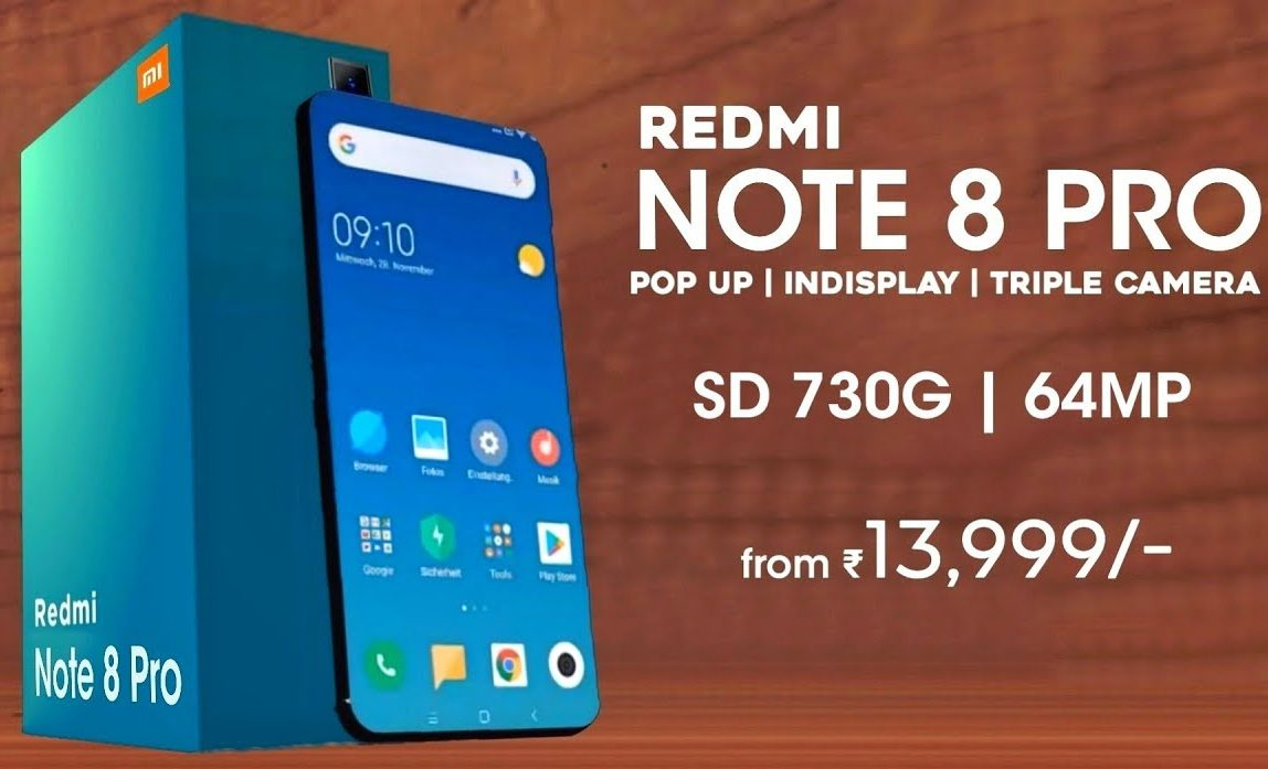 Redmi Note 8 Pro Price Specification India Launch Date