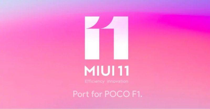 MIUI 11 Port Poco F1, MIUI 11 9.9.25 For Poco F1