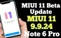 How to Install MIUI 11 Beta on Redmi Note 6 Pro