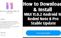 MIUI 11.0.2.0 Android 10 Redmi Note 8 pro Stable ROM Download