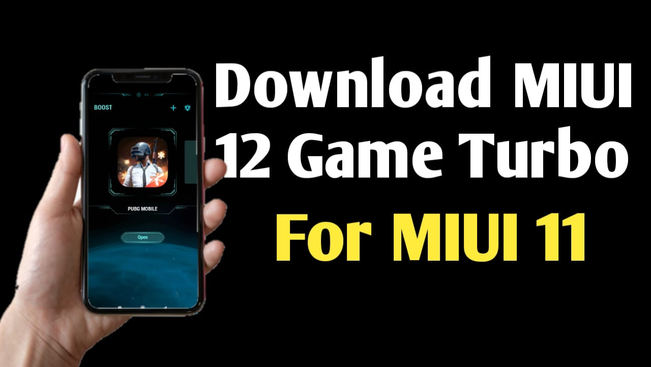 Download MIUI 12 Game Booster For MIUI 11 Device