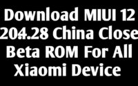 MIUI 12 20.4.28 Download Link For All Xiaomi Device