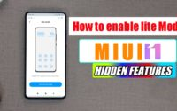 How to Enable Lite Mode in any Xiaomi Device-MIUI 12 Hidden Feature