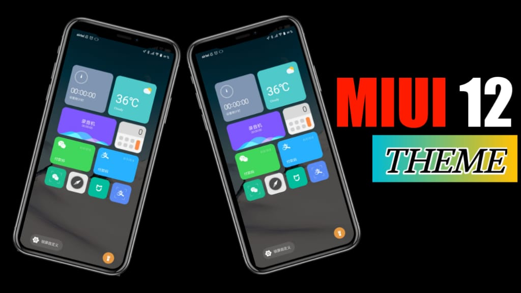 MIUI 12 Based Theme Download For MIUI 11