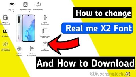 How to change Realme X2Fonts, Realme X2 font download font Apk