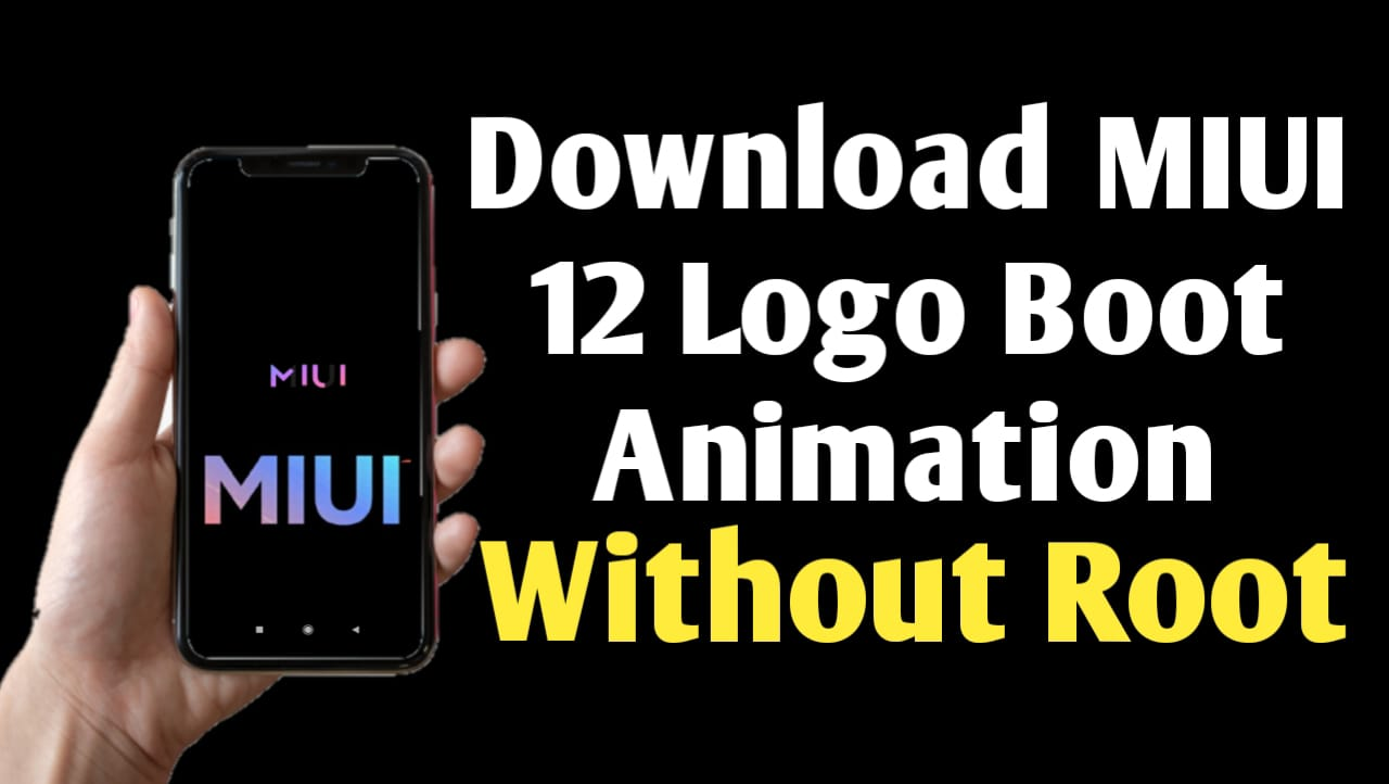 MIUI 12 Boot Animation Theme Download For MIUI 11