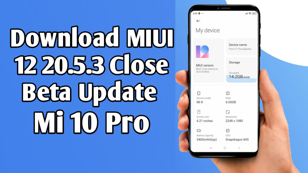 Download MIUI 20.5.3 Closed Beta For Mi 10 Pro