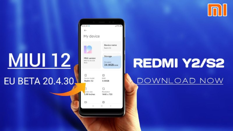 Download MIUI EU 12 20.4.30 For Redmi Y2